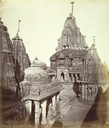 The Great Chaumukh and other temples in the Khartaravasi Tuk, Satrunjaya